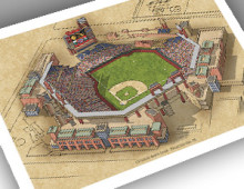 thumbnail of 13x19 print of Citizens Bank Park