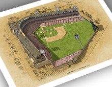 thumbnail of 13x19 print of Crosley Field