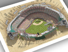 thumbnail of 13x19 print of Dodger Stadium