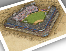 thumbnail of 13x19 print of Ebbets Field