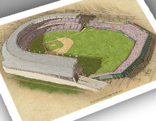 thumbnail of 13x19 print of midlife Polo Grounds