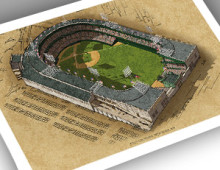 thumbnail of 13x19 Polo Grounds print