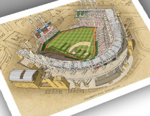 thumbnail of 13x19 print of Progressive Field