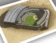 thumbnail of 13x19 print of Safeco Field