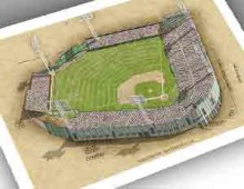 thumbnail of 13x19 print of Seals Stadium