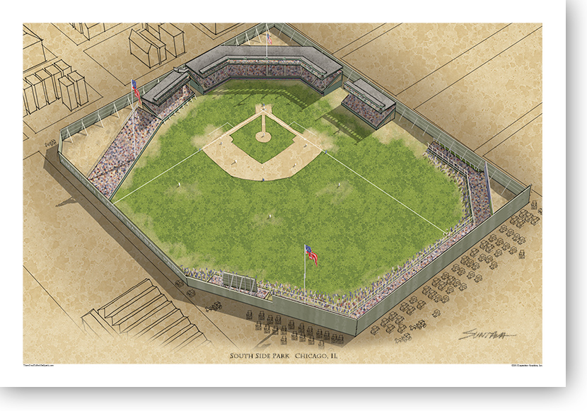 13x19 print of South Side Park