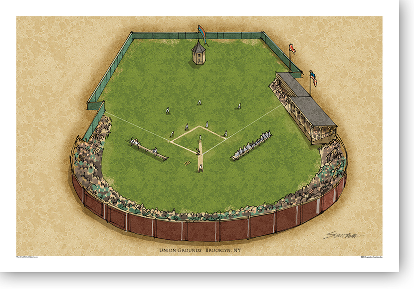 13x19 print of Union Grounds