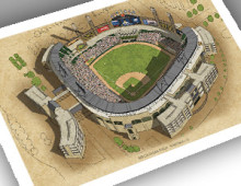 thumbnail of 13x19 print of US Cellular Field