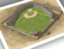 thumbnail of 13x19 print of West Side Grounds