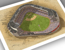 Thumbnail of 13x19 print of Yankee Stadium