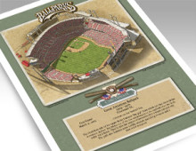 thumbnail of 11x14 inch print of Great American Ballpark