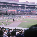 Polo Grounds Outfield Signage 1963