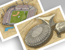 thumbnail of 2pack of montreal ballparks