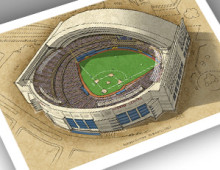 Thumbnail of 13x19 print featuring Rogers Centre