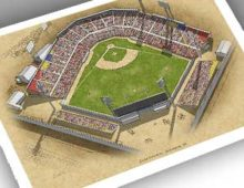 Thumbnail of 13x19 print of Colt Stadium