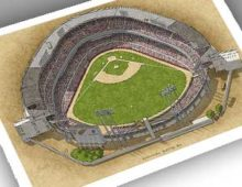 Thumbnail of County Stadium 13x19 print