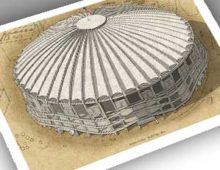 Thumbnail of 13x19 archival print of the Kingdome