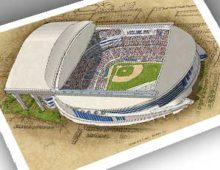 Thumbnail image of 13x19 print of Marlins Park