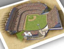 Thumbnail image of 13x19 print of Mile High Stadium