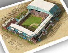 Thumbnail of 13x19 print of Minute Maid Park