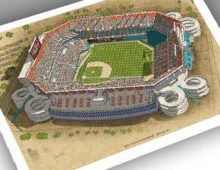 Thumbnail of 13x19 print of Pro Player Stadium