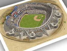 Thumbnail of 13x19 print of Qualcomm Stadium