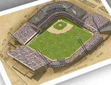 Thumbnail of 13x19 print of Sicks' Stadium