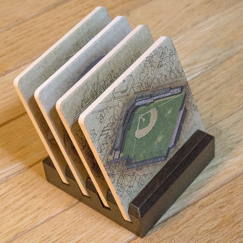 Ballpark Cleveland Coasters